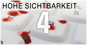 4 hohe sichtbarkeit Man & Machine desinfizierbare Tastaturen Mäuse hygienekritische Bereiche Gesundheitswesen Krankenhaus Medizin Infektionskontrolle geräuschlos Hygienetastatur Medizintastatur Desinfektion Komfort IP68