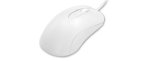 c mouse white en profile Man Machine logo hygienic waterproof keyboards mice clean with alcohol clean with chloride silent typing use keyboard in hospital