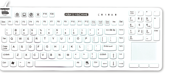 how to clean a really sticky keyboard