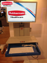 Washable Keyboards For Medical Carts And Pc Wall Mounts