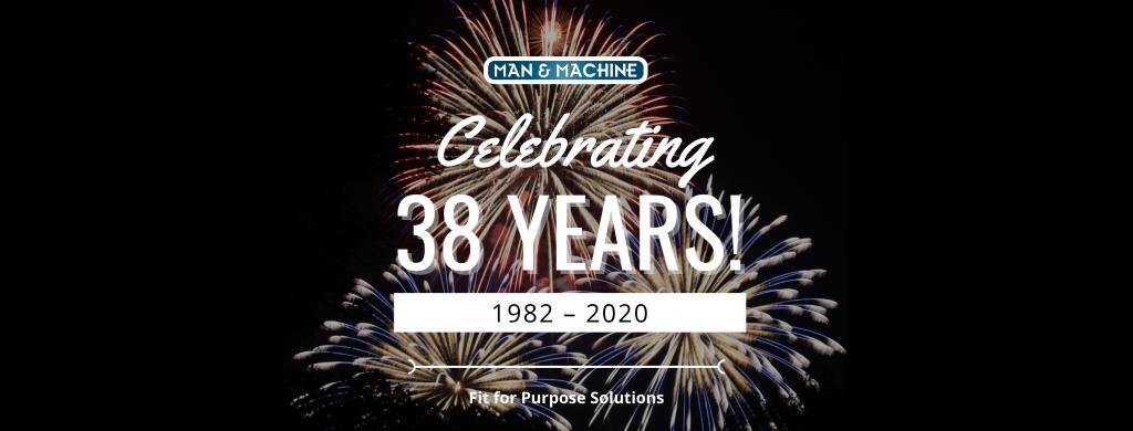 Celebrating 38 Years Banner