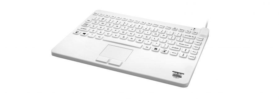 slim cool plus keyboard - waterproof keyboard with touchpad