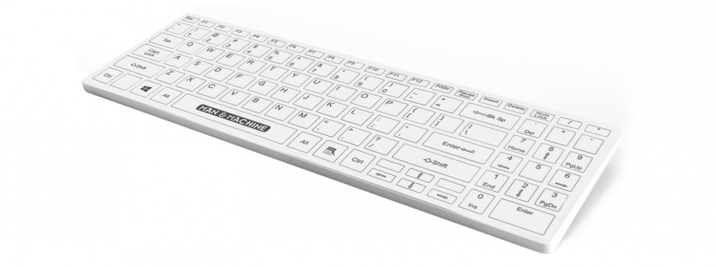 Fitted keyboard cover for its col keyboard.