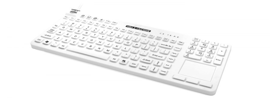 Our premium waterproof typing device is a waterproof keyboard that is made up withstand 1:10 bleach solution.