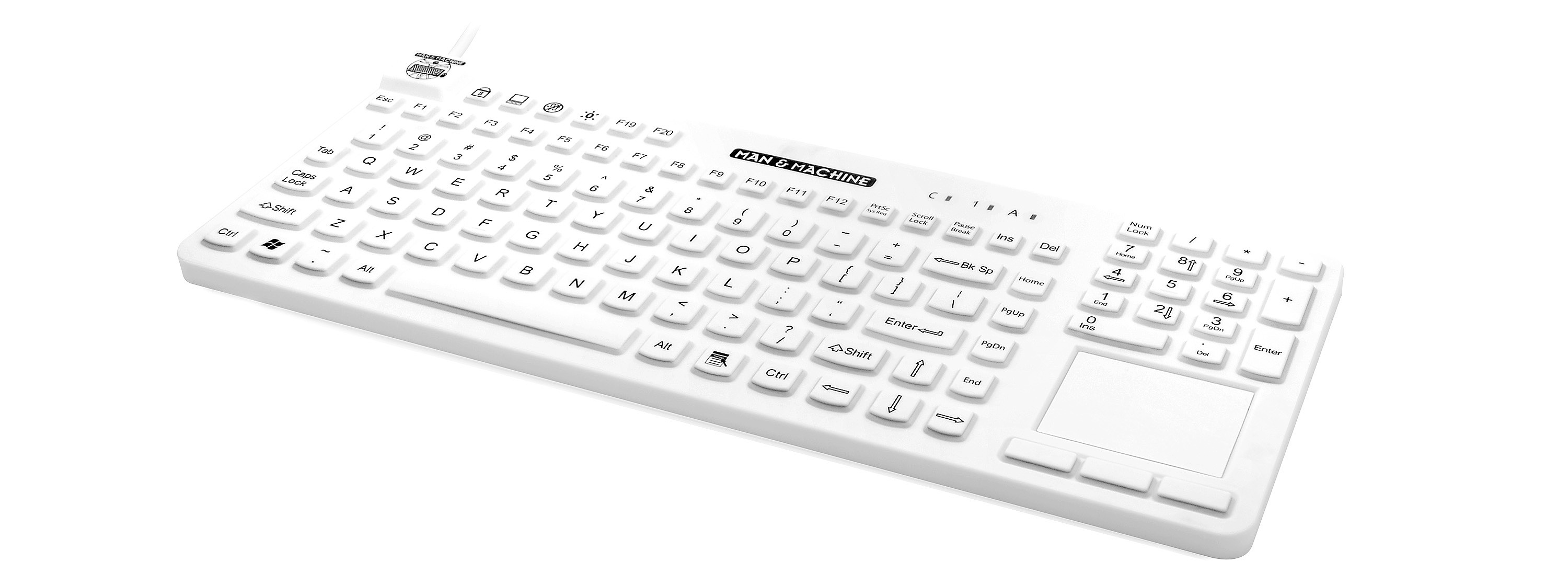 Our premium waterproof typing device is a waterproof keyboard that is made up withstand 1: